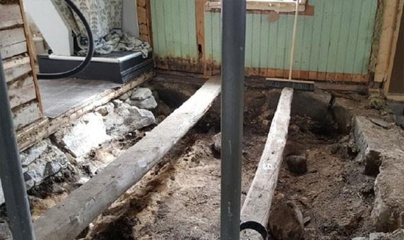 """العثور على آثار من عصر """"الفايكنغ"""" تحت أرضية منزل في النرويج"""
