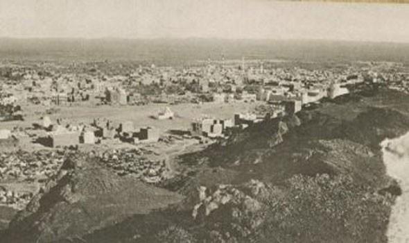 دارة الملك عبدالعزيز ترفع الستار عن صورة تاريخية للمدينة المنورة