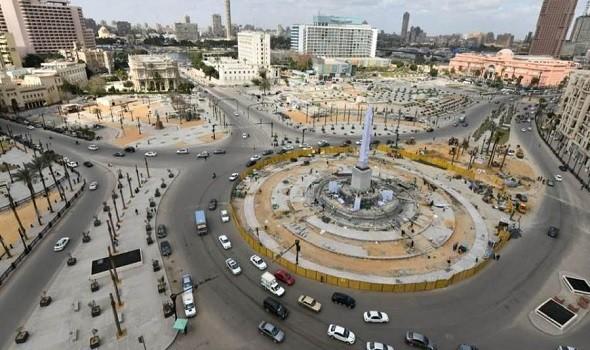 """احتفاء مصري بإطلالة """"ميدان التحرير"""" الجديدة بعد تشغيل مشروع الإنارة"""