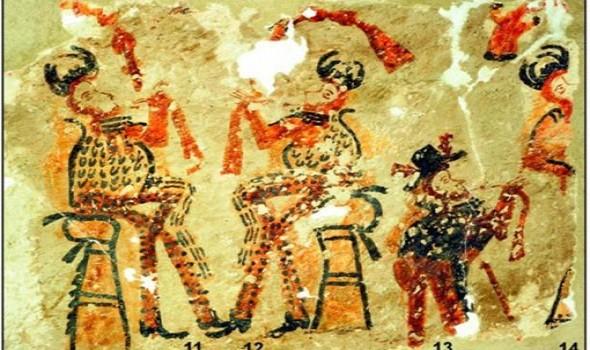 علماء يكتشفون جداريات غامضة تعود لحضارة المايا المفقودة