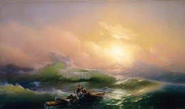 """ملايين الدولارات للوحة """"خليج نابولي"""" بريشة الروسي أيفازوفسكي"""