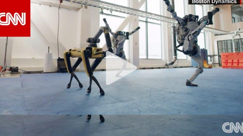 احتفالا بالعام الجديد.. حركات رقص مثيرة من روبوتات بوسطن دينامكس