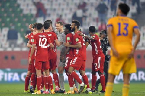 بايرن ميونيخ يحقق السداسية بالفوز بكأس العالم للأندية