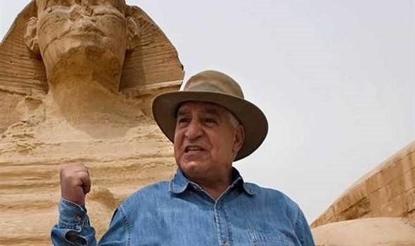 زاهي حواس يعلن عن كشف أثري جديد في سقارة