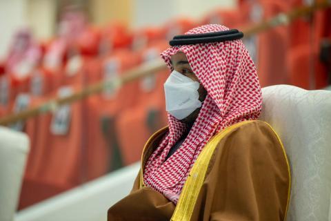 محمد بن سلمان يرعى حفل سباق «كأس السعودية» للخيول