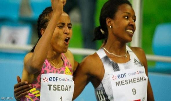الإثيوبية تسيغاي تحطم الرقم القياسي في سباق 1500 م
