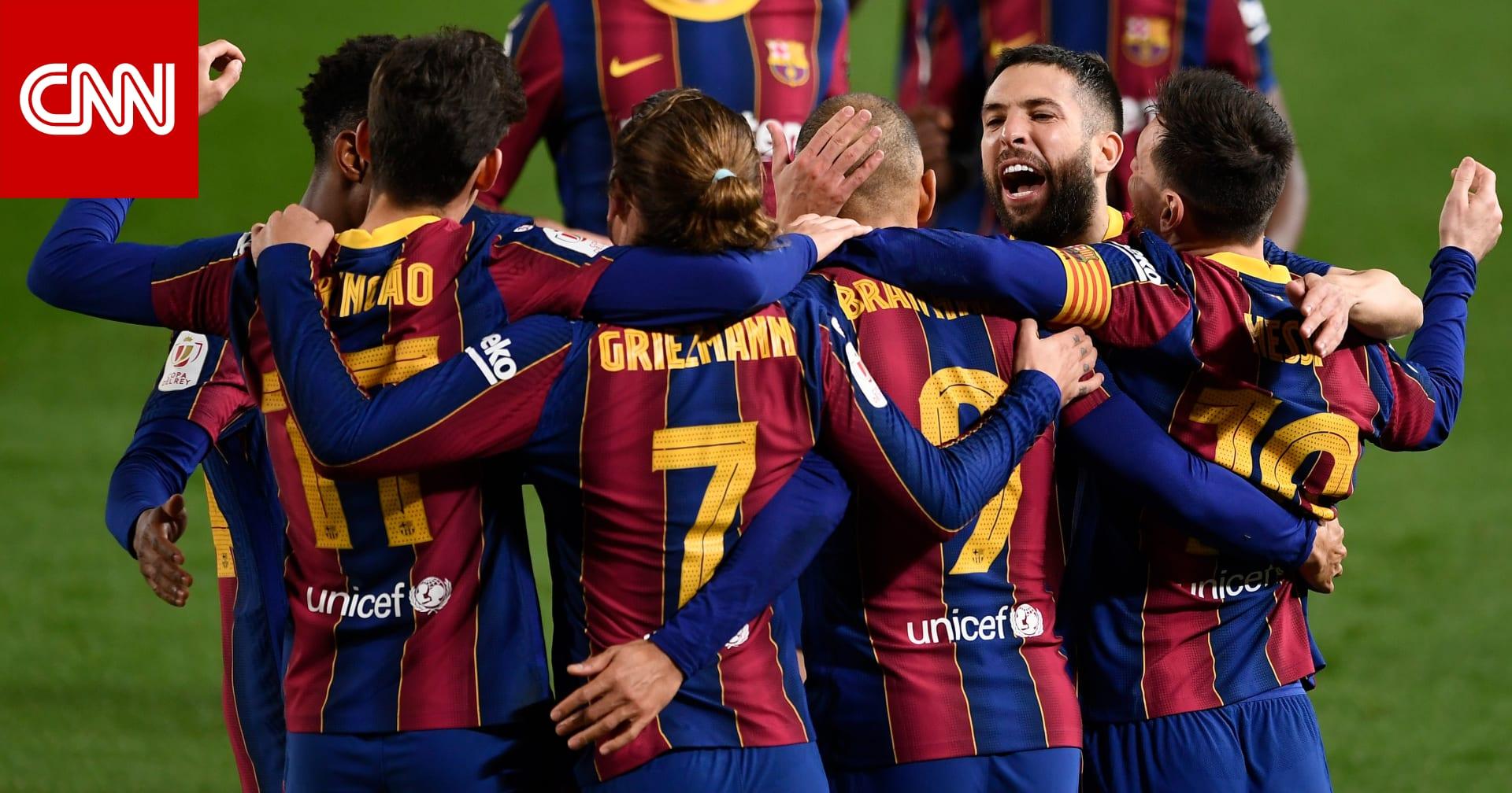 ريمونتادا تاريخية لبرشلونة تُؤمن عبوره إلى نهائي كأس إسبانيا