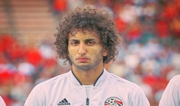تعرُّض اللاعب المصري عمرو وردة لحادث في اليونان