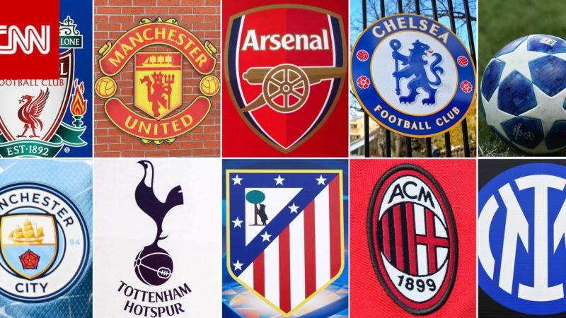 """""""اعترفوا بالخطأ"""".. اليويفا يعاقب 9 من الأندية المؤسسة لبطولة """"الدوري السوبر"""" الأوروبي"""