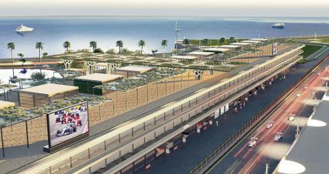 «فورمولا السعودية» تكشف عن مبنى «حداثي وفريد» على كورنيش جدة
