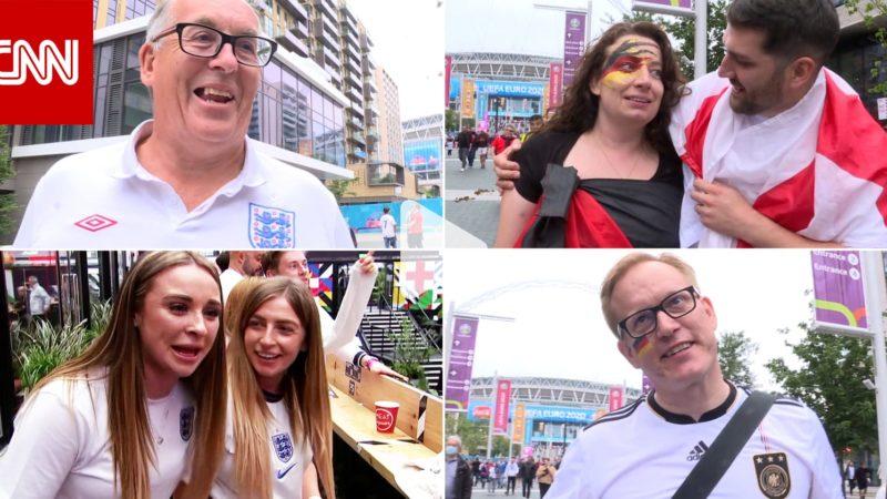 شاهد جنون فرحة مشجعي إنجلترا بعد فوز منتخب بلادهم على ألمانيا في يورو 2020