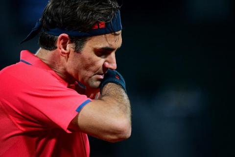 فيدرر ينسحب من بطولة فرنسا المفتوحة للتنس