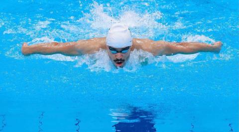 السباح السعودي بو عريش يودع الأولمبياد