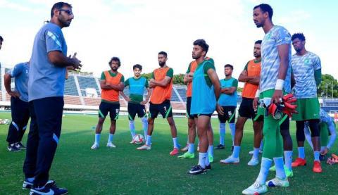 «الأخضر الأولمبي» السعودي يختتم تحضيراته للبرازيل بتمرين تكتيكي