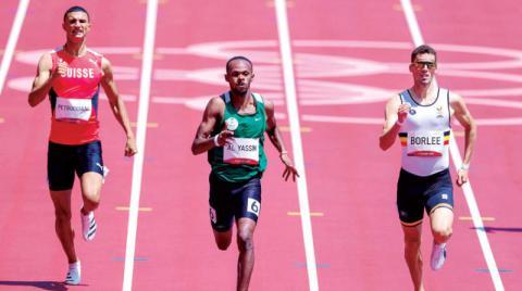 تأهل سعودي لنصف نهائي سباق 400م… وترقب لبطل الكاراتيه حامدي