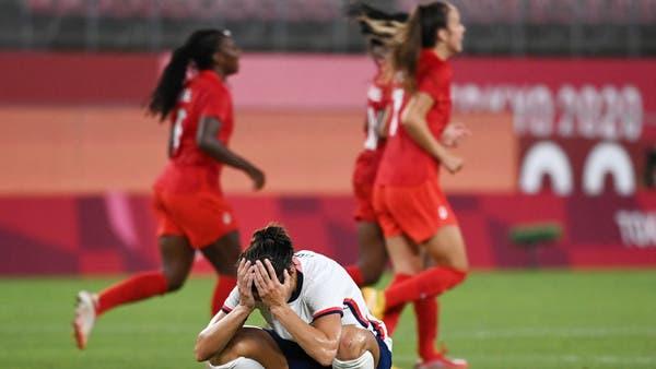كندا تهزم أميركا وتتأهل إلى نهائي كرة السيدات