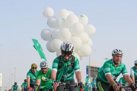 «مسك» و«اتحاد الدراجات السعودي» يختتمان مسيرة الـ1500 دراج