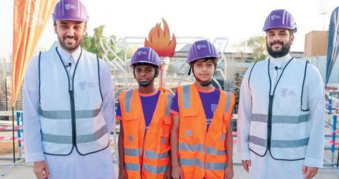 أكاديمية «مهد» تنطلق بمبنى صديق للبيئة وملاعب «أولمبية»